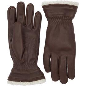 Hestra Deerskin Primaloft Gloves Dame chocolate